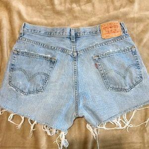 Vintage Levi Jeans shorts size 8/9